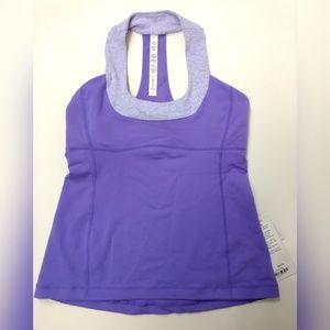 Lululemon Scoop Neck Tank Top Size 10 Purple New